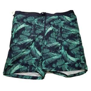 Merona xxl bathingsuit trunks mens tropical